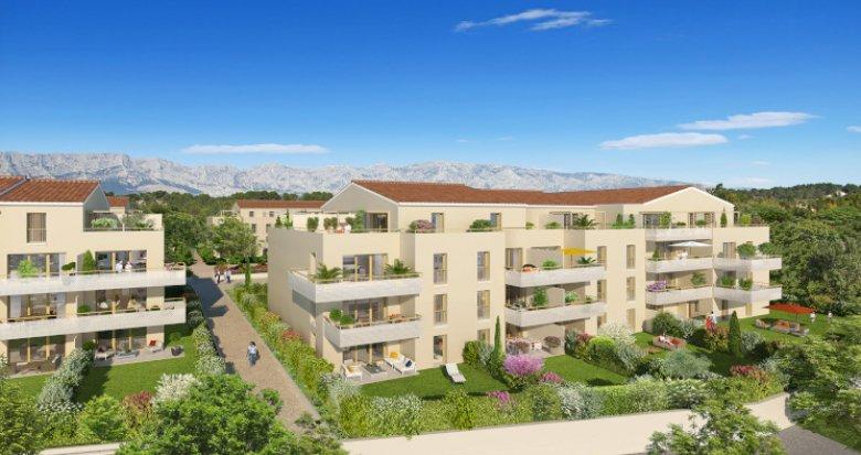 Achat / Vente programme immobilier neuf Rousset proche centre (13790) - Réf. 2733