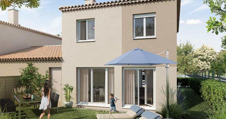Achat / Vente programme immobilier neuf Saint-Mitre-les-Remparts proche d'un parc boisé (13920) - Réf. 5806