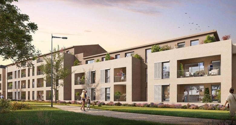 Achat / Vente programme immobilier neuf Trets cadre naturel proche centre-ville (13530) - Réf. 6279
