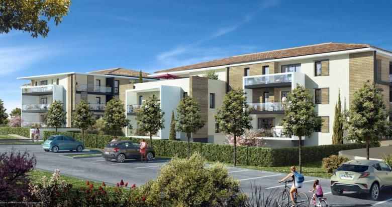 Achat / Vente programme immobilier neuf Velaux proche du centre du village (13880) - Réf. 6136