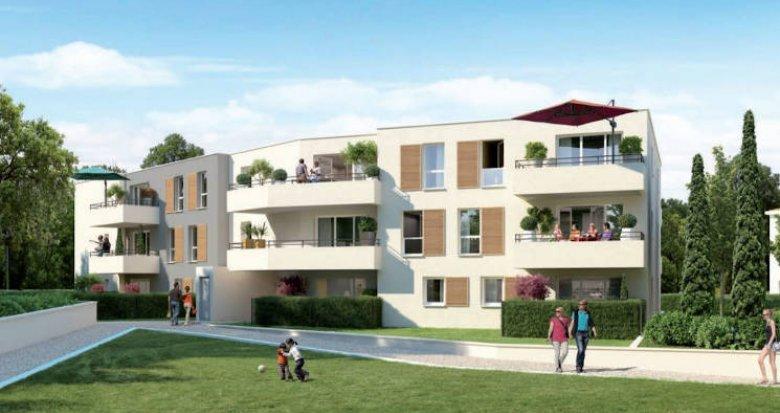 Achat / Vente programme immobilier neuf Vitrolles proche étang et transports (13127) - Réf. 5068